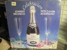 "JOHNNY PACHECO - PETE CONDE RODRIGUEZ ""Celebration"" Fania Near Mint f"