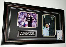 *** RARO Gianluigi Buffon della Juventus signed foto con Autografo DISPLAY ***