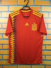 Spain soccer jersey medium 2019 home shirt CX5355 football Adidas