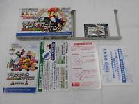 U1312 Nintendo Gameboy Advance Mario Kart Japan GBA w/box