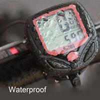 Cycling Bike Bicycle LCD Cycle Computer Odometer Speedometer Waterproof