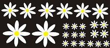 Daisy Flower Set Voiture Autocollants Decals transfesr Camper Rétro Art VW Facile Appliquer