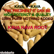 KAVA KAVA ROOT WHOLESOME Boost Sex Drive Relaxation FRESHEST 100 X CAPSULES