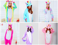 Adult  Tenma Unicorn Kigurumi Pajamas Animal Cosplay Costume Unisex 2018 Hot