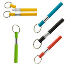 4 x Key Ring Ballpoint Emergency Geocaching Pen Outdoor Lanyard Underwear