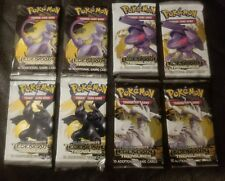 8 Pokemon Black and White LEGENDARY TREASURES Booster Packs (10 Cards per)