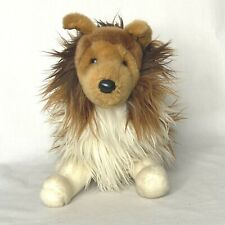 "Douglas Cuddle Toys Sheltie Collie Puppy Dog 18"" Plush Stuffed Animal"