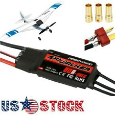 20/30/40A Brushless Speed Controller ESC W/ BEC For RC Toy Airplane Quadcopte US