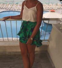 river island skirt size 10 Tropical Print