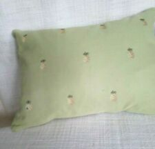 "Liz Claiborne Green Pineapples Rectangular Bedding Throw Pillow, 12""x16"" Down"