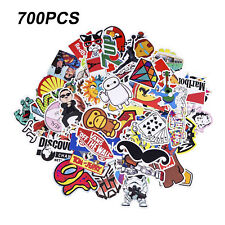 700 Random Skateboard Vinyl Sticker Skate Graffiti Laptop Luggage Car Bomb Decal