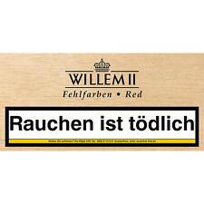 100  Cigarillos Fehlfarben Vanilla  / Willem II Holland jetzt red in neuer Kiste