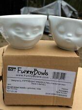 00004000 Tassen Funny Bowl Small Size Set Grinning/Kissing