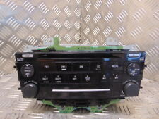 2006 Mazda 6 Radio CD Player Head Unit GP9E66DSX
