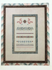 "OOP ""Forever"" Cross Stitch Pattern JUST NAN JN020 Sampler - Out of Print"