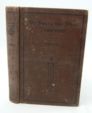 Studies in the New Testament 1915 Hardcover Book / Robertson Sunday School Board