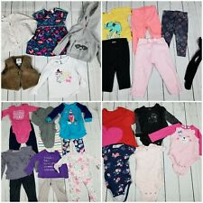 Toddler Girls 18M 28-Piece Clothing Lot [Carters Cat & Jack Old Navy Outfits]
