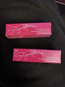 Mary Kay Signature Creme Lipstick GOLD DUST 2311 DISCONTINUED Shade NIB Lot Of 2