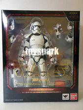"BANDAI S.H. Figuarts Star Wars The Last Jedi FIRST ORDER STORMTROOPER 6"" figure"
