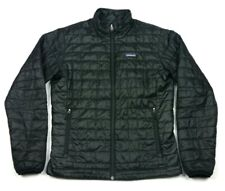 Patagonia Black Nano Puff Quilted Insulated Puffer Jacket Medium Mens 84211