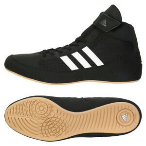 Adidas Hvc 2 Men's Boxing Shoes Training Wrestling Black AQ3325