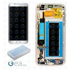 Display LCD Frame Originale Samsung SERVICE PACK Per Galaxy S7 EDGE G935F Silver