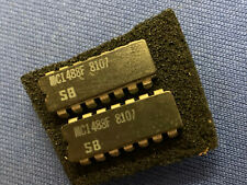 QTY-1 MC1488F SIGNETICS SN1488J 14-PIN CERDIP NEW VINTAGE 1981 RARE COLLECTIBLE