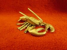 Spoontiques Pewter LOBSTER #PP755--Figurine Sculpture--1986