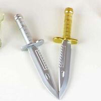 Cute Novelty Ballpoint Pen Knife Shape Dagger Writing Instrument Creative
