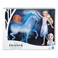 Disney Frozen 2 Nokk Horse and Elsa Fashion Doll Pack