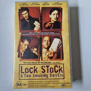 VHS Lock,Stock and Two Smoking Barrels Ex Rental Free Tracked Shipping.
