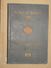Catalogue Petit Outillage Alfred H SCHUTTE outils 1912 Taraud Filliere Tool