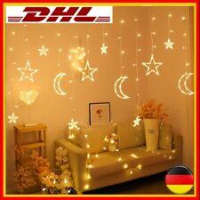 LED Mond Stern Lampe Lichterkette Ramadan Eid Dekoration Hochzeit Weihnachten