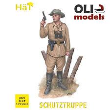 1/72 WWI Schutztruppe (44) Figures Set - HaT 8270