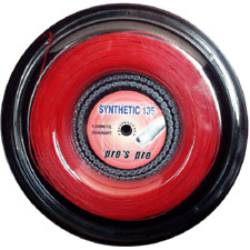 CORDE TENNIS PRO'S PRO SYNTHETIC RED 200 M - 1,35