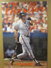 "Vintage Will Clark 1990 poster baseball Giants ""Thriller""  7088"