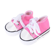 1Pair Doll Canvas Shoes Fits 18 Inch American Girl Other 18 Inch Doll Kids P&T
