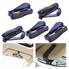 Black Sun Visor Sunglasses Eye Glasses Card Ticket Receipt Holder Clip Storage