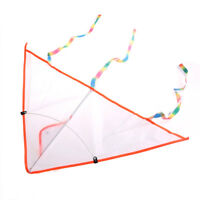 1PC DIY Painting Kite Foldable Outdoor Beach Kite Children Kids Sport Toys FT