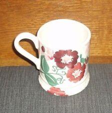 Emma Bridgewater 1/2 Pint Mug New First Quality Zinnia Pattern Colour Pink