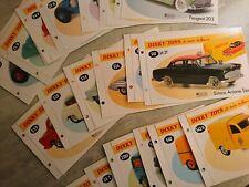 Dinky Toys - Livrets, Fascicules miniatures Atlas