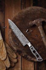 KATSURA Japanese Damascus AUS 10 woodworker Gyuto Chef's knife kit blank 8 inch