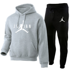 NEU Jordan 23 Herren Trainingsanzug Hoodie Hosen Splice Sweatshirt Sportswear DE