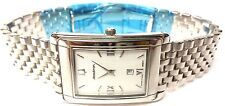 NEW RARE BULOVA ACCUTRON MENS 26B-07 SWISS HI-POLISH, 25 yr warranty 30M WR
