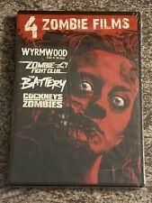 Wyrmwood/Zombie Fight Club/Battery/Cockneys vs Zombies (Dvd, Scream Factory) New
