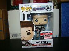 FUNKO POP MARVEL TONY STARK ENTERTAINMENT EARTH EXCLUSIVE VHTF--