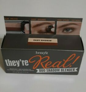 BENEFIT They're Real Duo Shadow Blender Easy Smokin' NIB