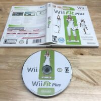 Wii Fit Plus Nintendo Wii 2009 Complete *