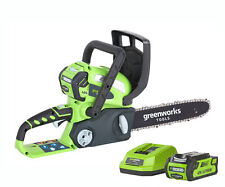 Greenworks G40CS30K2 Cordless 40v Chainsaw 30cm/12in with Battery
