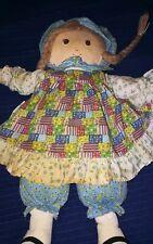 Holly Hobbie 1993 Vintage Holly Hobbie Doll Meritus Stuffed Doll Holly Hobby